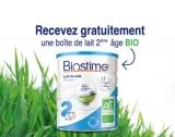 Boîte de lait Bio 2e âge Biostime GRATUITE