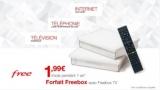 Forfait Freebox avec Freebox TV à 1,99€/mois