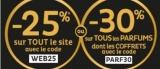 -30% sur tous les parfums chez Nocibé (Code promo)